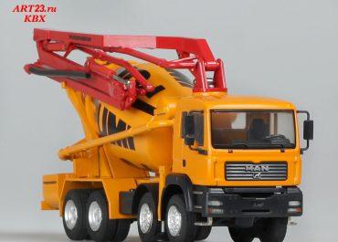 Putzmeister PUMI 26.67Q truck mixer