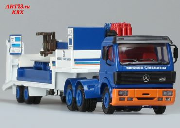Mercedes-Benz SK 2635S «Messer Griesheim» truck tractor and semi-trailer