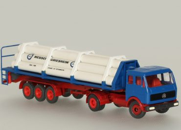 Mercedes Benz NG 1632S «Messer Griesheim» truck tractor with 3-axle semi-trailer TF 200