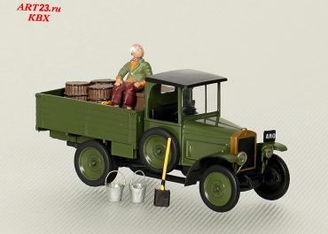 АМО Ф-15 праворульный бортовой грузовик