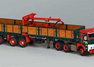 FTF, Floor Truck Fabriek, F-7.20D-02 «Hendriks Lobith» truck tractor with 3-axle semi-trailer