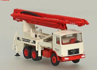 Putzmeister Elefant BRF 2112-M 31/27 «Breitbach&Hostadt» truck-mounted concrete pump with boom