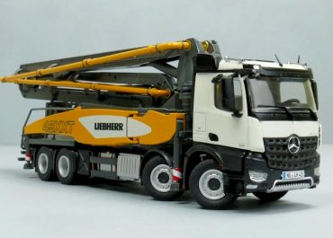 Liebherr 43 R4 XXT THP140H truck-mounted concrete pump with boom