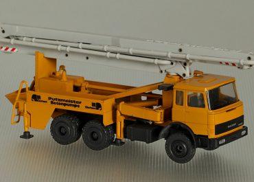 Putzmeister Elefant BRF 2112-M 31/27 truck-mounted concrete pump with boom