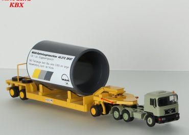 MAN F 90 40.372 DFAT truck tractor with 1+2 axle trailer Schmitz