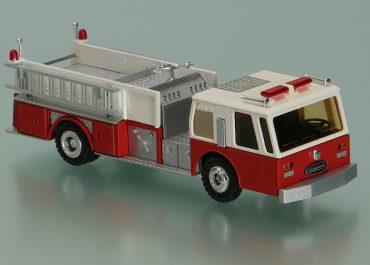 Emergency One Protector IV, Hurricane, fire pump truck