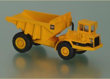 Caterpillar D44, DJB D44 off-road articulated Dump Truck