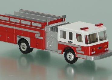 Emergency One Hush fire pump truck