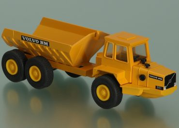 Volvo BM 861 off-road articulated Dump Truck