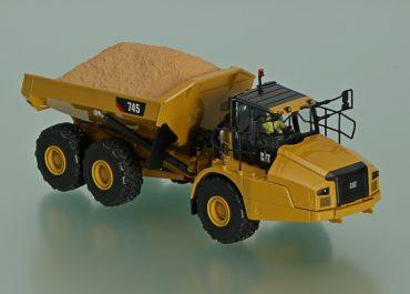 Caterpillar 745 off-road articulated Dump Truck
