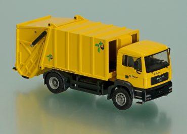 Haller X2 M-16 «Hofmann denkt» garbage truck on the chassis MAN TGA 18.310