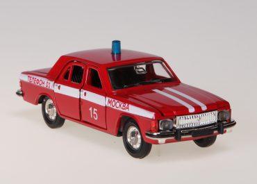 Пожарный оперативно-служебный автомобиль на базе седана ГАЗ-3102