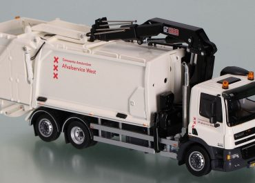 Geesink Norba GPM3 KT1 «Gemeente Amsterdam» garbage truck on the chassis DAF CF 85 FAN 85.410