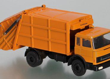 Schörling 2R19, license Elgine Leach Co., garbage truck on the chassis Magirus-Deutz 260 M 19 FL