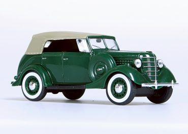 ГАЗ-11-40 опытный заднеприводный фаэтон с откидным тентом и съемными боковинами
