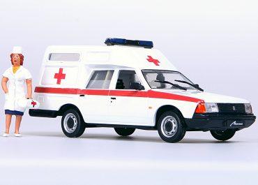 АСМП Москвич-2901 переднеприводный автомобиль скорой медицинской помощи на базе Москвича-21412