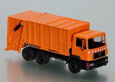 FAUN VarioPress Typ 211 garbage truck on the chassis MAN F 2000 26.343 DFLC-KO