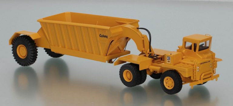 Сaterpillar 769B off-road Mining truck tractor with Truck semi-trailer Athey T Line PW 20