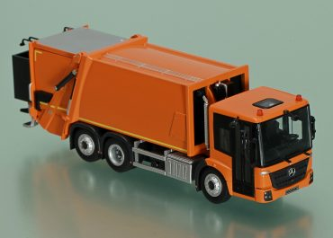 Faun Variopress 522/524 garbage truck on the chassis Mercedes-Benz Econic 2635LL