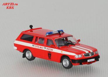 АОС-4-01 НН оперативно-служебный пожарный автомобиль на базе универсала ГАЗ-310221