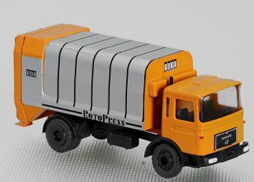 KUKA, Keller und Knappich, Augsburg, Rotopress Type 206-16 garbage truck on the chassis MAN F8 17.192F-KO