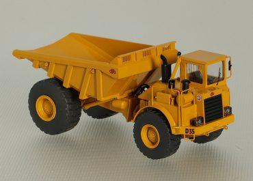 DJB D35/Caterpillar D35C all-terrain articulated Dump Truck