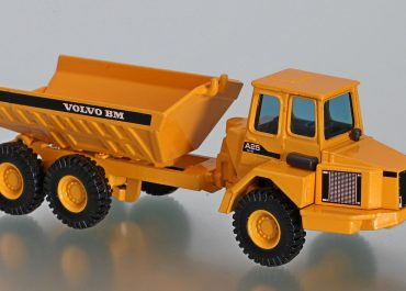 Volvo BM A25, before 1987. 5350, off-road articulated Dump Truck