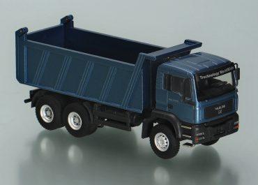 MAN TGA M WW 33.410 construction rear dump truck Meiller Kipper