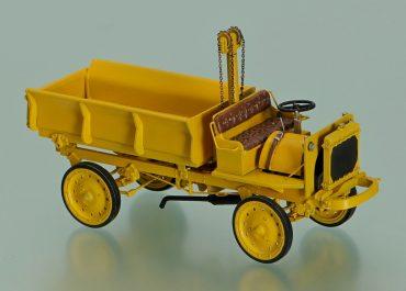 Jeffery Quad, Nash Quad, rear dump truck