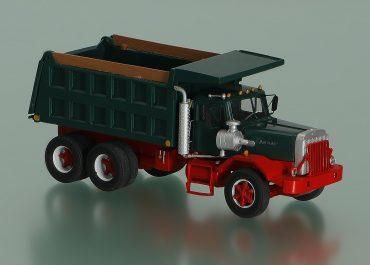 Autocar DC9964/DC64B construction rear dump truck