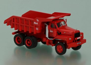 Mack B 81-36SX «Haukes» rear dump truck with bodywork Edbro-Mulde
