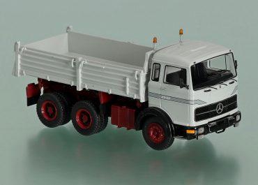 Mercedes Benz LPK 2232 construction three-way dump truck Meiller Kipper