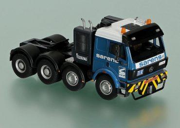 Mercedes Benz SK 3550S «Sarens» heavy saddle-ballast tractor