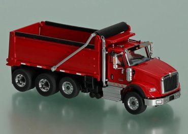 International HX620 Day Cab road rear dump truck