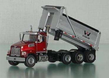 Western Star 4700SF, set-forward, Standart Cab rear dump truck