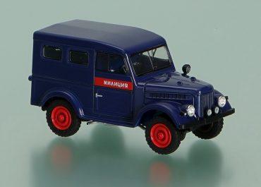 ГАЗ-69 «Милиция» цельнометаллический милицейский фургон широкого применения