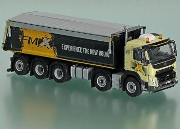 Volvo FMX 13.540 Day Cab rear dump truck