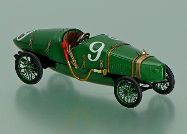 Руссо-Балт С24-58 (вариация 3) «Русский огурец» гоночный автомобиль на шасси Руссо-Балт С24/30 серии III №9
