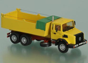 RVI Renault C260.26 rear dump truck