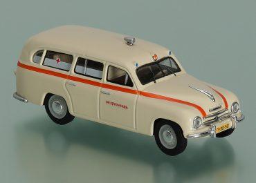 Skoda 1201 автомобиль-фургон медицинской службы