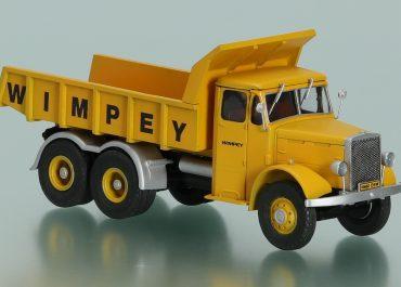 Leyland Super Hippo «Wimpey Mining» construction rear dump truck