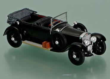 Роллс-Ройс, Rolls-Royce, 40/50HP модель «Серебряный призрак», «Silver Ghost», заднеприводный автомобиль с кузовом дубль фаэтон