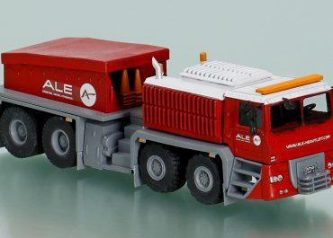 "Trojan 8870 ""ALE"" heavy ballast tractor, base Unipower MH8875"