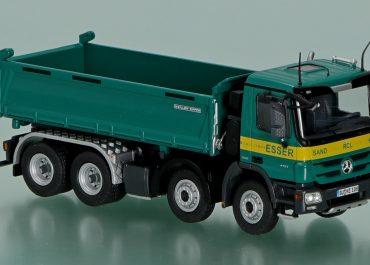 Mercedes-Benz Actros MP3 4151K «Esser» construction three-way dump truck Meiller Kipper