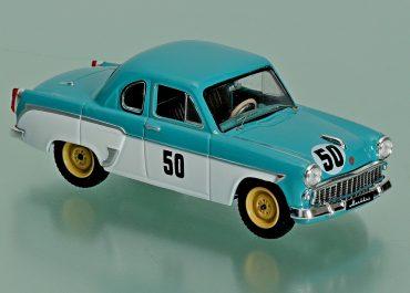 Москвич-407-Купе заднеприводный спортивный автомобиль для кольцевых и ипподромных гонок