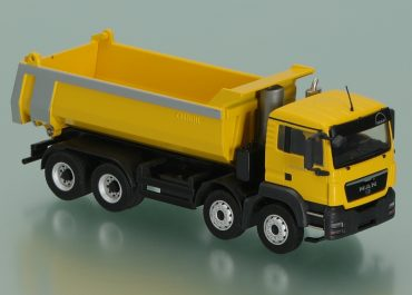 MAN TGS I M 41.480 WW construction rear dump truck Carnehl