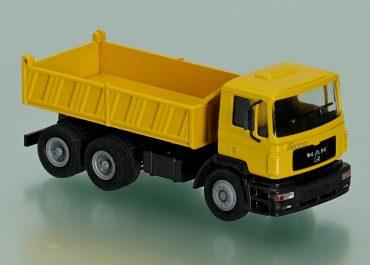 MAN F 2000 Evolution 27.414 DFAK construction three-way dump truck Meiller Kipper 3-S-SP