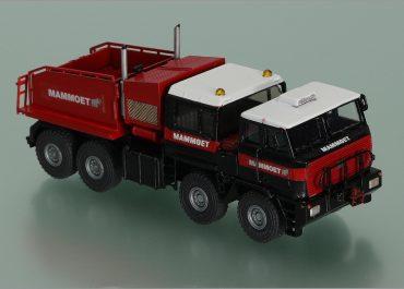 MOL TG 250 «Mammoet» heavy saddle-ballast tractor