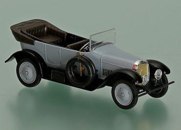 Промбронь С24/40  автомобиль с кузовом «торпедо», усовершенствованный Руссо-Балт С-24/40 серии XVIII образец 1915-17 года