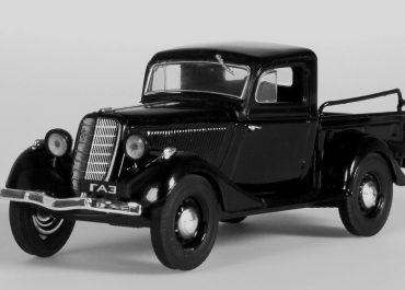 ГАЗ М-415 заднеприводный полугрузовой автомобиль (пикап) тонн на шасси ГАЗ М-1